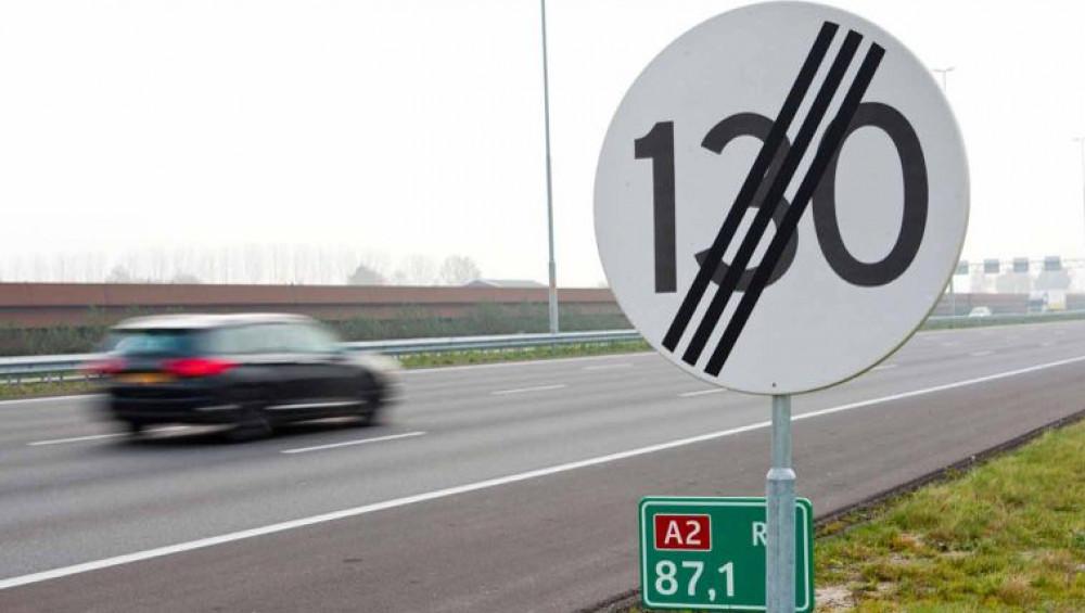 snelheidsaanpassing maart 100 km per uur vr.7 februari 2020